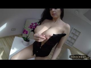 Ewa sonnet corset striptease ( milf milk wet pussy big tits busty suck blowjob brazzers kink porn anal мамка модель сосет )