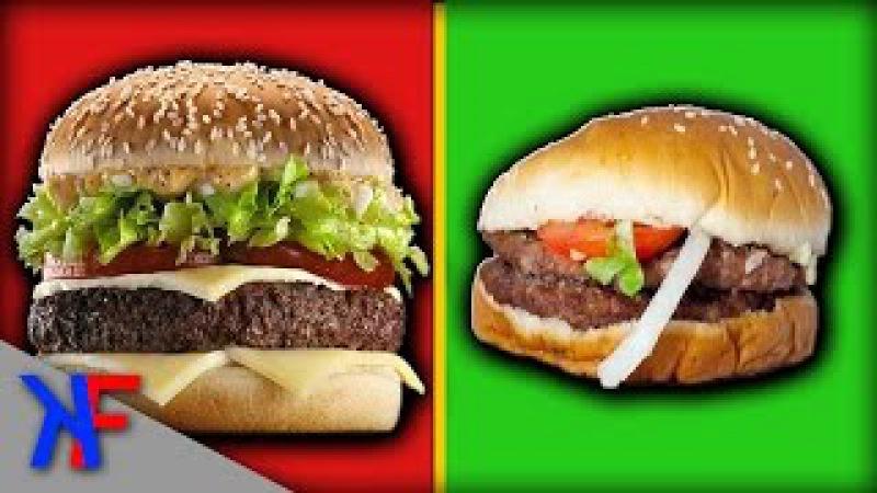 10 Makanan Cepat Saji Yang Tidak Terlihat Seperti Iklannya 😱