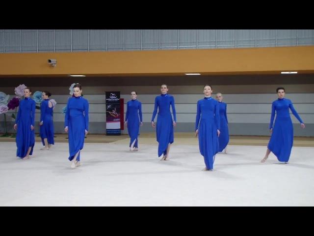 Всебелорусский турнир по эстетической гимнастике Сильфида Миледи 1