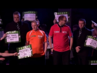 2017 World Grand Prix of Darts Round 1 M.Webster vs North