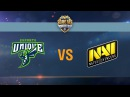 UNIQUE vs Natus Vincere G2A - day 2 week 3 Season II Gold Series WGL RU 2016/17