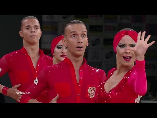 DUET Perm RUS 2017 World Formation Latin O N E❣️H E A R T B E A T ❣️