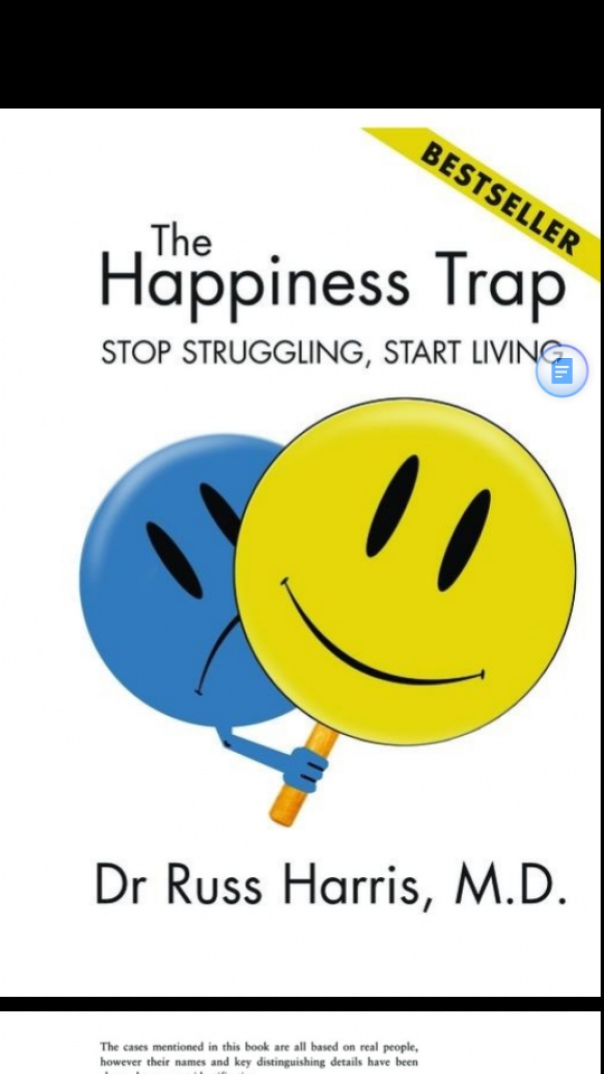 the happiness trap how to stop