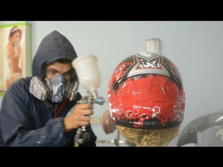 ТРЭЙЛЕР Эксклюзивная покраска шлема