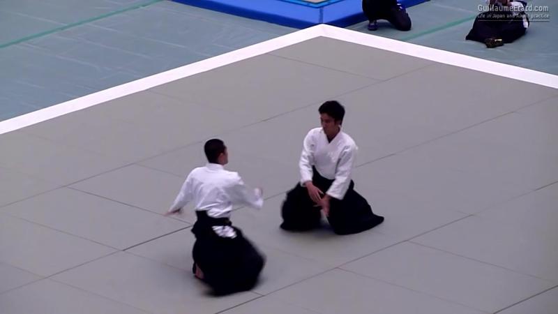 Ueshiba Mitsuteru Waka-Sensei - 52nd All Japan Aikido Demonstration 2014