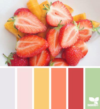 Фруктово-ягодные палитры