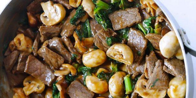 10 салатов для тех, кто любит мясо, изображение №7