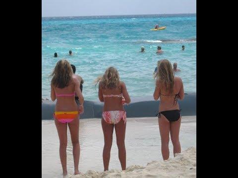 Ukraynalı Bikinili Güzeller Best Bikini Beach Tanga Bikinili Kızlar Plajda Herkesi Coşturuyor