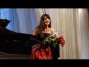 Соломия Приймак и Игорь Оловников на Январских музыкальных вечерах 2018 в Бресте