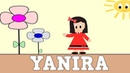 Aprender a Leer y Escribir YANIRA - Nombres de NIÑA - Vídeos para niños
