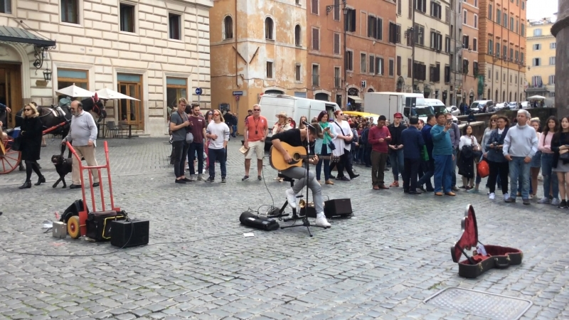 Guns N' Roses Sweet Child O' Mine cover Rome 2018