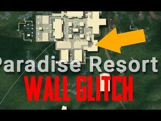 Баг со стеной в Paradise Resort