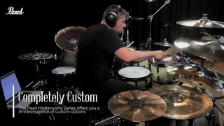 Pearl Masterworks in action with Ray Luzier   Korn - Insane