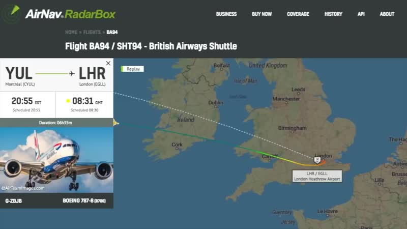 Irish Aviation Authority is investigating after BA94 and VS76 pilots reported UFO off Irish coast