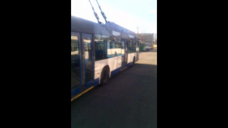 Арсенальная 27 Тяготы троллейбусника