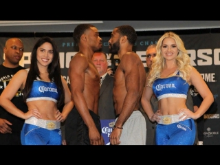 Errol spence - lamont peterson weigh in
