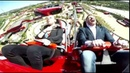 Slow Motion Paloma Ferrari Land bird crash Red Force roller coaster