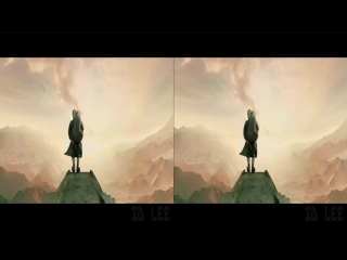 Fantastic falls pt 1  - 3d sbs music-sizzle video vr stereoscopic google cardboard in real 3d