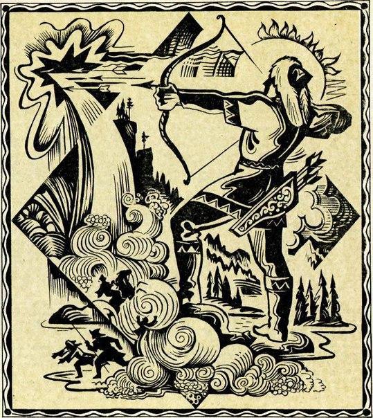 Рисунки легенды башкирии