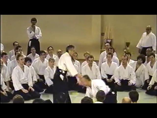 合気道 aikido 田村信喜 TAMURA NOBUYOSHI SHIHAN