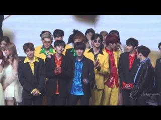 FANCAM 161231 UP10TION Отсчет до нового 2017 года @ MBC Gayo Daejejeon