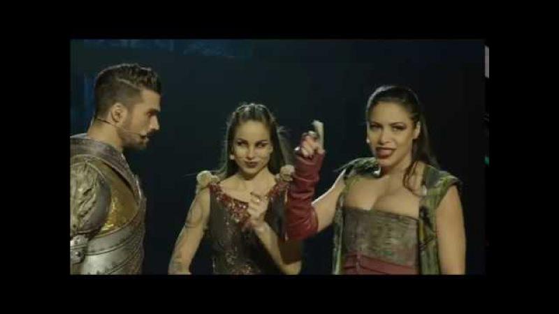 Zaho et Florent Mothe Mon Combat Tir Nam beo extrait du DVD La Légende Du Roi Arthur