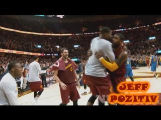 Kirie irving winning shot!!! top basket. cleveland cavaliers vs golden state warriors