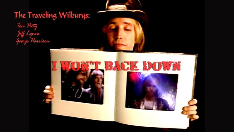 Tom Petty George Harrison Jeff Lynne I Won t Back Down 1989