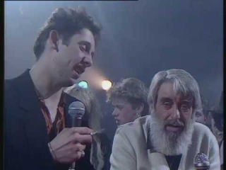 The Pogues & The Dubliners  - Irish Rover + Interview (Megamix_1987)