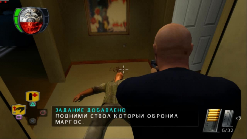 The Shield The Game Full Rus PCSX 2 11 Fps 50 16 9 HD 720 p