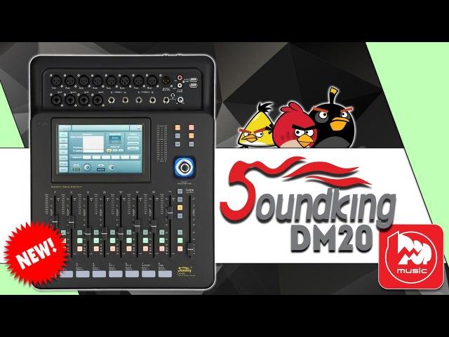 SOUNDKING DM20 доступный цифровой микшерный пульт