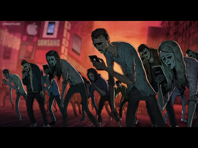 Fever Ray Keep The Streets Empty For Me with Steve Cutts illustrations