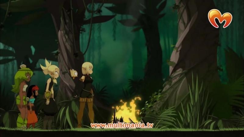 Вакфу 47 серия 21 серия 2 сезон Остров Беллафон HD 1080p Мультфильм