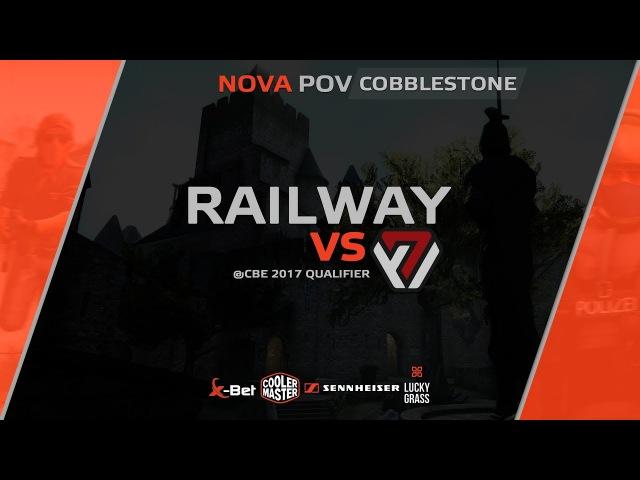 NOVA POV: Railway vs AVANGAR @CBE 2017 QUALIFIER