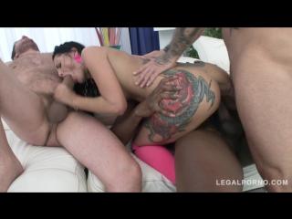 [legalporno]amanda black balls deep anal fuckign  rough dp 720p