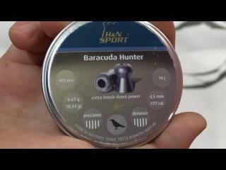 Пули для охоты.!! H&N Baracuda Hunter Extreme H&N Baracuda  Hunter Bullets for hunting