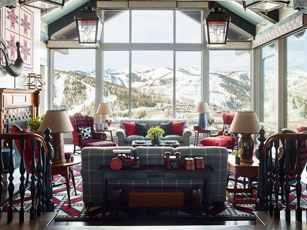 Если вы любите горные дома и интерьеры из...