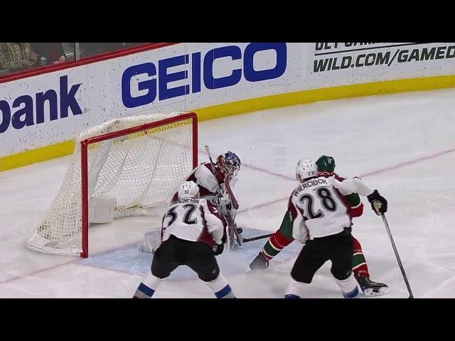 20 12 16 НХЛ РС Миннесота Колорадо Обзор матча