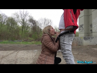 Sicilia crane (student actress fucked outside)[2017, blowjob, blonde, facial, swallow, pov, public sex, hardcore, hd 1080p]