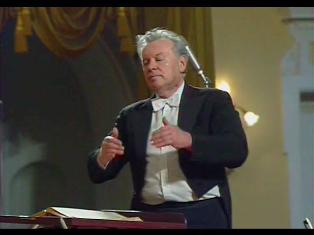 Evgeny Svetlanov conducts Scriabin Symphony no 2 video 1988