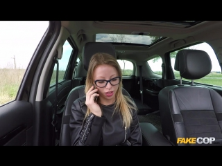 Vera wonder unregistered driver creampied by cop