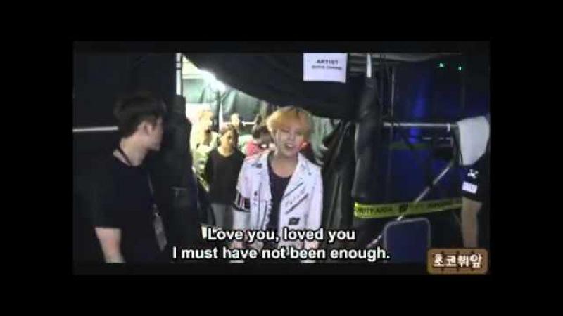 G-Dragon sings Taeyang's EYES NOSE LIPS