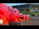 Dodge Viper vs. Charger Hellcat vs. Challenger Hellcat - Roadkill Nights - Tug of War Burnout