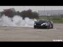 Lamborghini Gallardo Superleggera - REVS, DRAG RACE BURNOUT