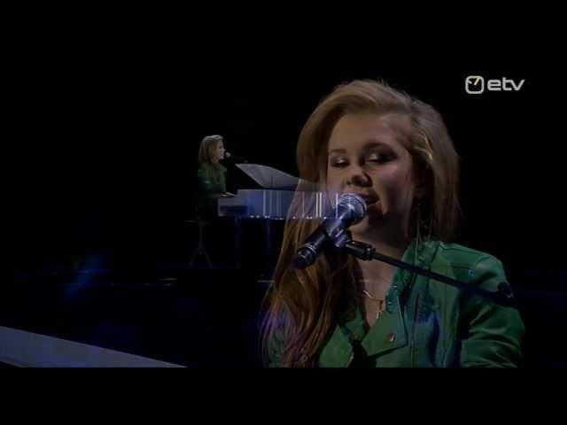 Grete Paia Päästke noored hinged @ Eesti Laul 2013 Finaal live