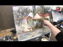 Итальянская деревня, курсы живописи и рисунка в Москве и Питере, рисование онлайн, Сахаров