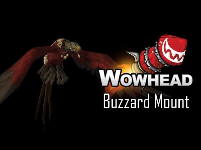 Buzzard Vulpera Mount Battle for Azeroth Model Preview