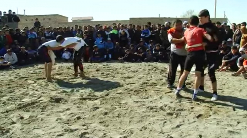 Gazanjyk toyy - Turkmen goreshi (6-nji bolegi) || vk.comturkmenvideolar