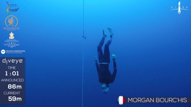 AIDA WCh Roatan 2017 Morgan Burchis CNF BRONZE