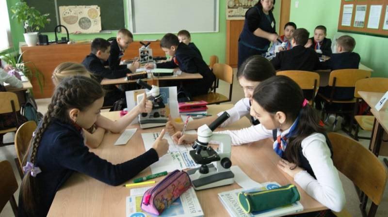 Дети на уроках биологии картинки